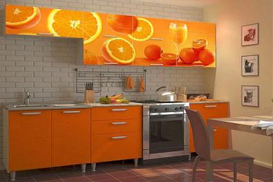 """Кухня """"Апельсиновый сок"""""""